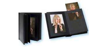 designer photo albums marshall bonded leather proof preview albums for slip in prints