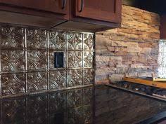 fasade kitchen backsplash panels rhonda in missouri installed these hammered backsplash panels