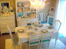 Chic Dining Room by Bathroom Marvellous Shabby Chic Dining Table And Chairs Room