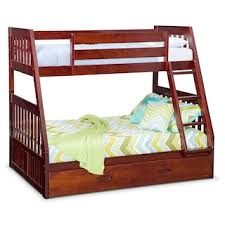 Bunk Bed With Mattress Samba Youth Twin Full Futon Bunk Bed With Chocolate Futon Mattress