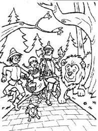 wizard oz coloring pages printable wizard oz coloring