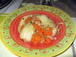 cuisiner fenouil braisé recette de fenouil braisé aux lardons