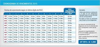 cronograma de sunat 2016 rus conoce el cronograma para declarar el impuesto a la renta 2014