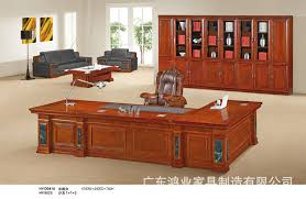 Executive Desk Solid Wood City Office Furniture Conference Tables And Chairs Boss Desk