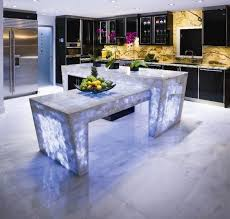 kitchen counter top ideas modern glass kitchen countertop ideas trends in decorating