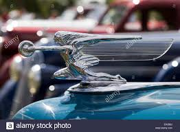 silver vintage car ornament stock photo royalty free