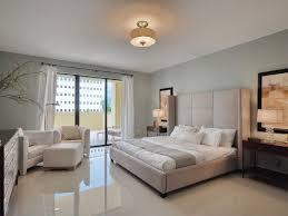 Flush Ceiling Lights For Bedroom Contemporary Master Bedroom With Marble Tile Floors Flush Light