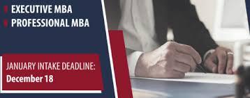 application deadline professional mba u0026 executive mba riga