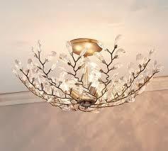 pottery barn ceiling lights 21 best lighting flushmounts ceiling fans images on pinterest