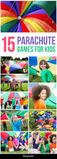 15 interesting parachute games for kids parachute games
