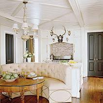 Cozy Height Of Banquette Seating Lori Gilder