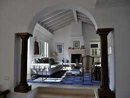 interior home columns decorative pillars inside home luxury stunning curved top with