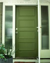 how to paint a front door