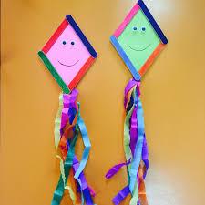 okulöncesi uçurtma hatice pinterest craft popsicle stick