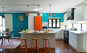 kitchen simple modern retro kitchen home design image cool with