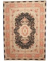 Pink And Black Rug Don U0027t Miss This Deal On Herat Oriental Indo Hand Knotted Erased