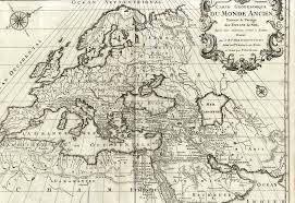 Map Of Europe And North Africa by Five Ancient Geographic Maps Engravings Europe Asia And North