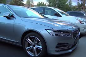 blue volvo station wagon 2017 volvo v90 station wagon spied testing in the wild video