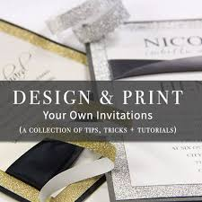 print your own wedding invitations design and print your own invitations carbon materialwitness co