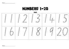 free printable tracing numbers 1 20 worksheets free worksheets