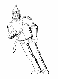 Tin Man Wizard Of Oz Coloring Pages Coloringstar Wizard Of Oz Coloring Pages