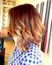 pictures of ombre hair on bob length haur medium length curly ombre hair