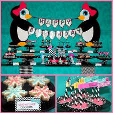 penguin party my pretty little penguin u0027s second birthday mimi u0027s