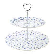 2 tier cake stand buy mrs s vintage store chintz 2 tier cake stand