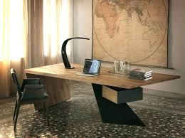 bureau massif moderne bureaux modernes design womel co
