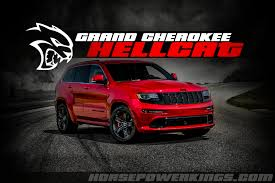 reports are surfacing that the new jeep grand cherokee srt hellcat