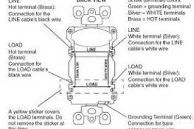 leviton gfci receptacle wiring diagram wiring diagram