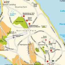 map of mackinac island map mackinac island mi michigan usa maps and directions at map