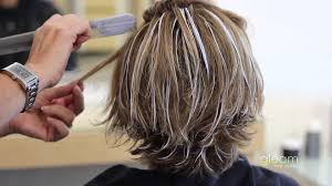 balayage highlight short hair gleam hair studio miami youtube