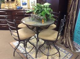 slate dining room table table and stools slate top pub table with 4 stools 33