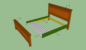 King Size Bed Frame Diy How To Build A King Size Bed Frame Howtospecialist How To