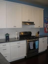 white shaker oakland kitchen