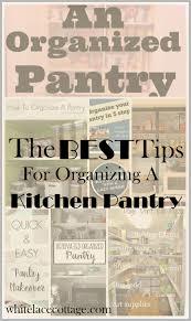 kitchen pantry organizing ideas white lace cottage