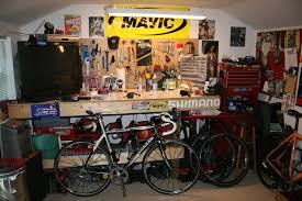 bike workshop ideas workbench for bicycle maintenance