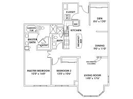 Den Floor Plan Floor Plans Of Heritage Landing Apartments Flats Townhomes