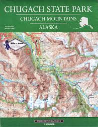 State Park Map by Chugach State Park Map Imus Geographics David Imus