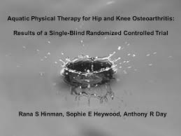 Blind Physical Therapist Effects Of Hydrotherapy In Knee Osteoarthritis Ppt Download