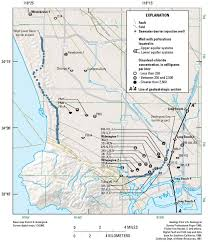 Map Of Los Angeles Area Seawater Intrusion Sgma Usgs Ca Water Science Center
