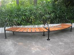 curved outdoor bench outdoor curved benches with indonesia solid