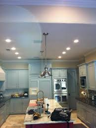Led Lights In The Kitchen by Trimless Fixtures Recessed In The Kitchen Ceiling Minigrid In
