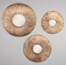Circle Wall Mirrors Decorations Awesome Mirrored Circle Vanity Wall Mirror With