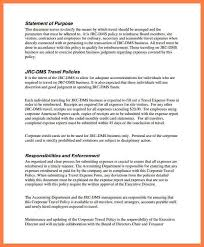 Sle Travel Expense Policy by 5 Company Credit Card Policy Template Company Letterhead