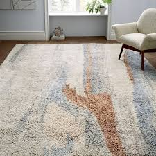 marbled wool shag rug multi marble pattern marbles and shag rugs