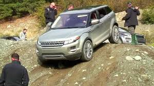 land rover range rover off road 2012 range rover evoque launch off road youtube