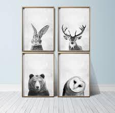 Where To Buy Nursery Decor Nursery Wall Animal Print Woodland Nursery Decor Nursery