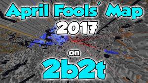2b2t Map 2b2t April Fools U0027 Map 2017 Part 1 Youtube